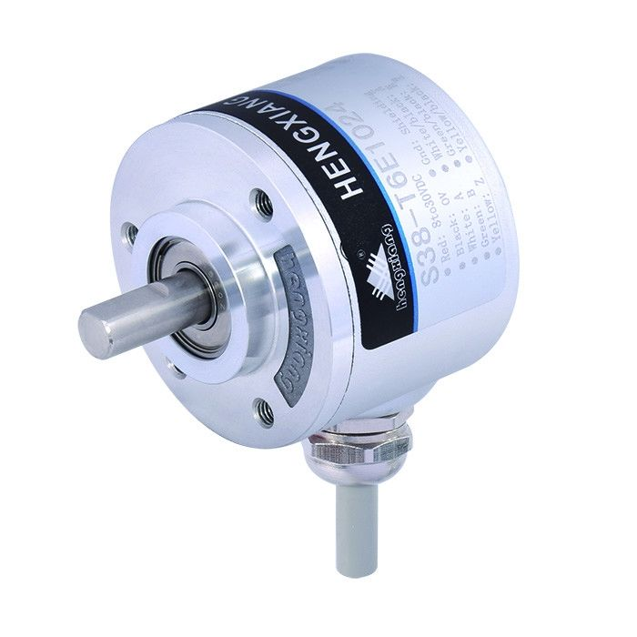 Thickness 28mm Optical Rotary Encoders S38 Shaft Line Driver7272 Output